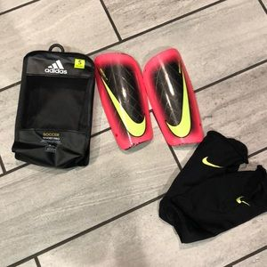 Nike soccer shields with sleeves